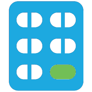 Adherence Packaging Dispill - Pill Icon