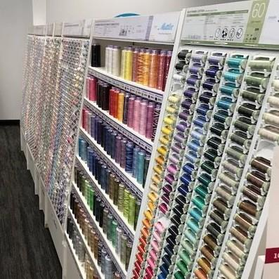 Largest Thread selection in Wisconsin Frank's Sewing Center Sew Much More