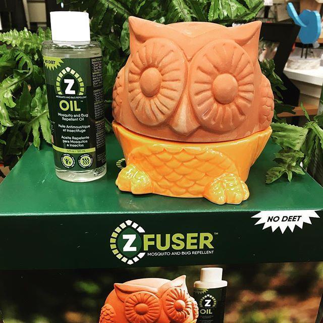 owl, diffuser, deet free, mosquito repellent, garden decor, citronella, Zfence