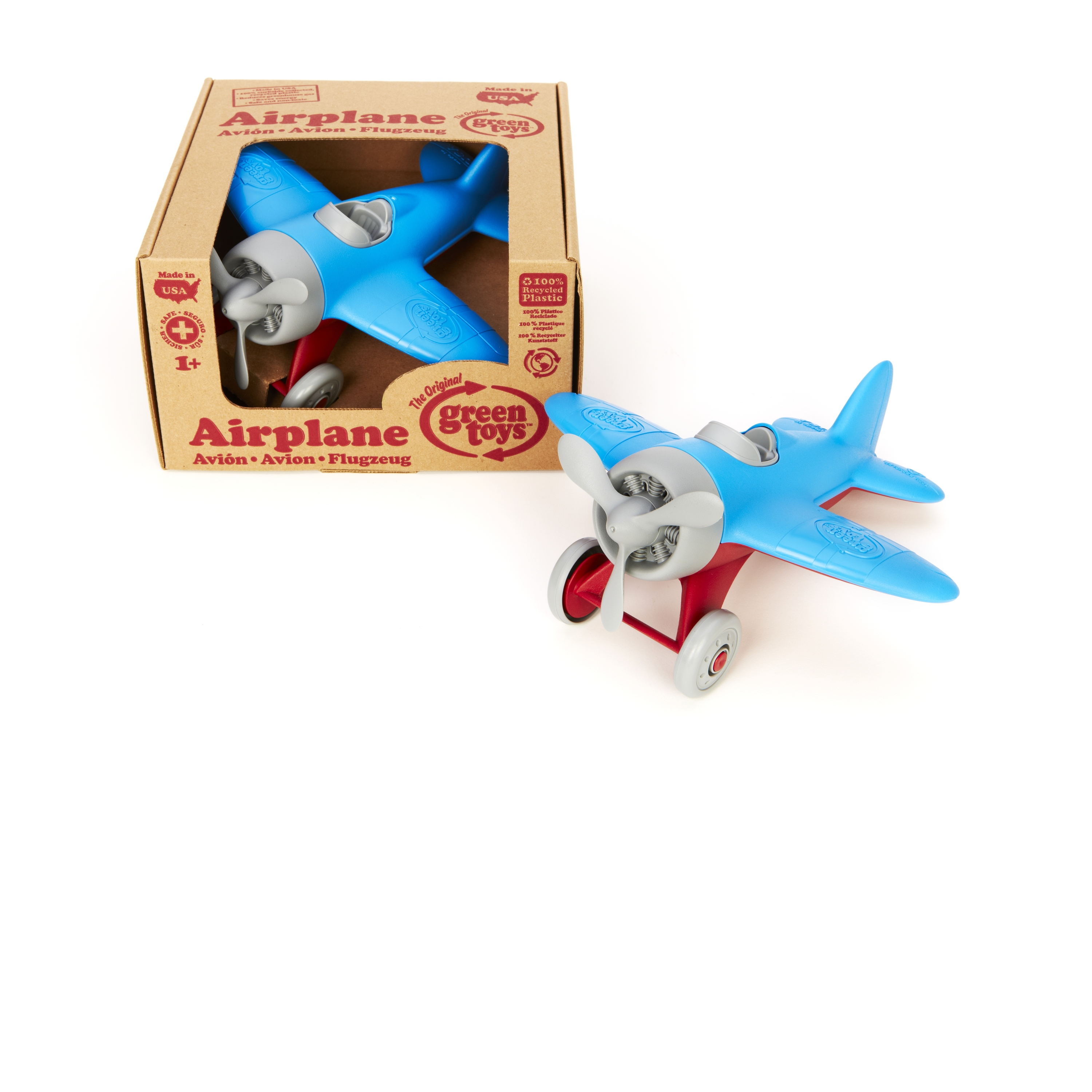 Aira Green Toys Airplane