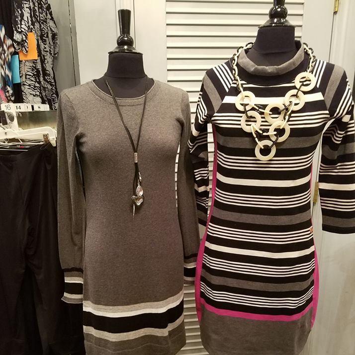 new soft knit dresses