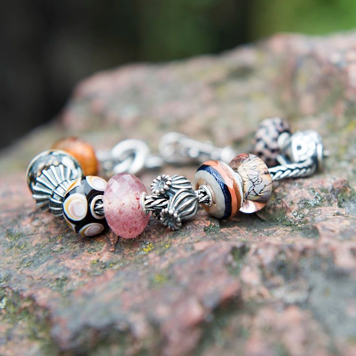 Trollbeads new spring collection 2017 silver glass