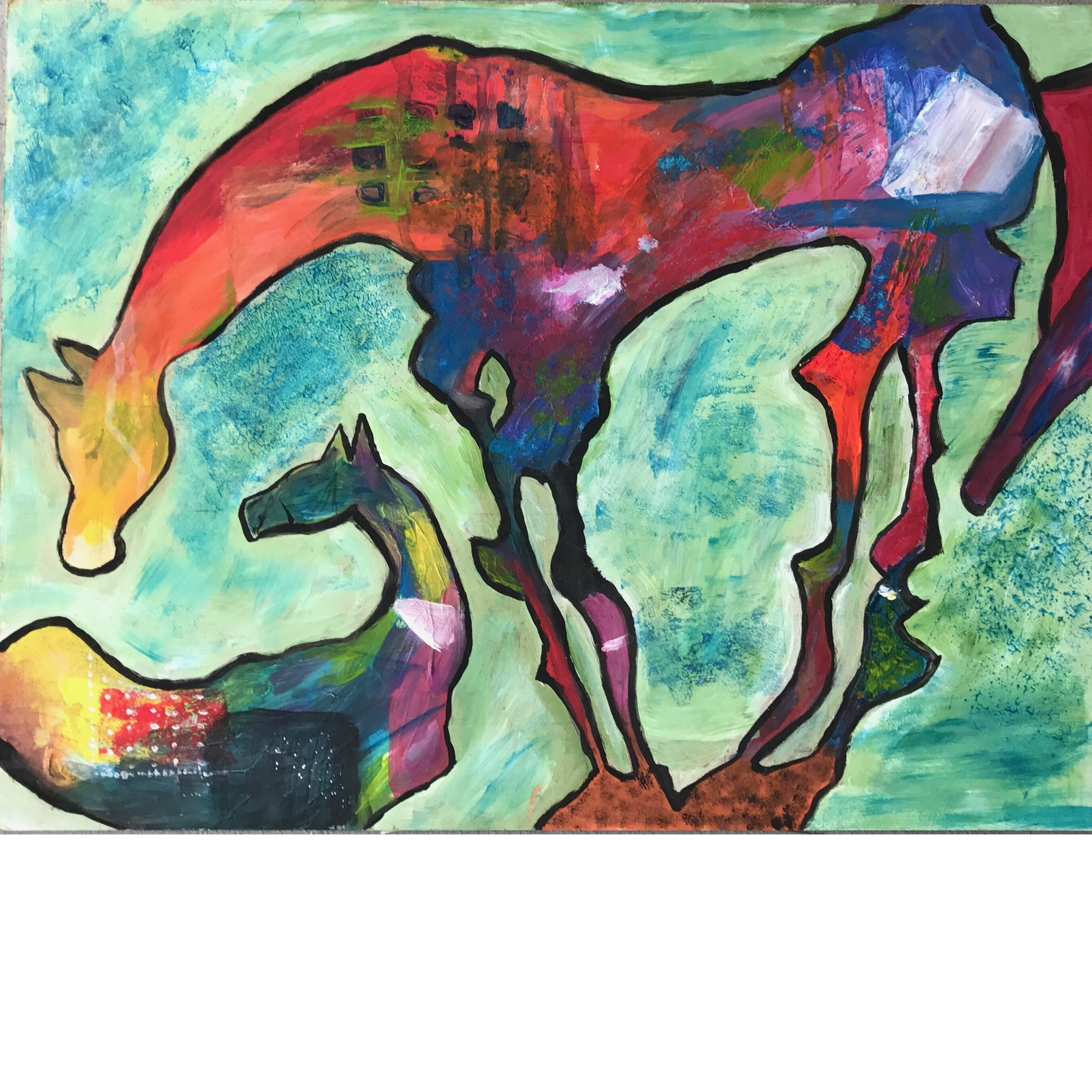 Gustonian Gifts & GG2, 357 pine street downtown Williamsport, will be featuring Hannah Wolf's paintings from 9 to 8 pm 10/6.