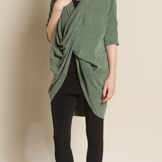 Crossover Under Loop Sweater Clara Sunwoo