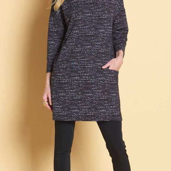 Textured Sweater Tunic Clara Sunwoo