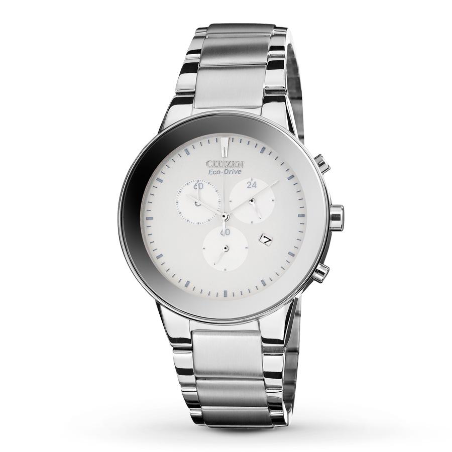 Citizen AT2240-51A Axiom mirror bezel chronograph watch