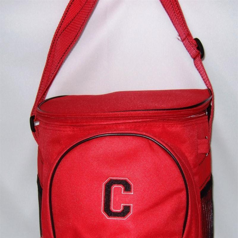 Personalized golf bag cooler